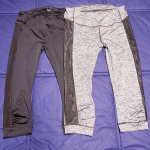 THERAPY RUCHED ACTIVE LEGGINGS